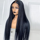 Wigs Wig And Wig Wholesale Top Quality 100% Virgin Human Hair 150 180 HD Full Lace Human Hair Wigs Pre Plucked Silky Straight Full Lace HD Wigs