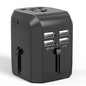 International travel adapter hot selling AUS EU US UK plug socket converter portable travel adapter