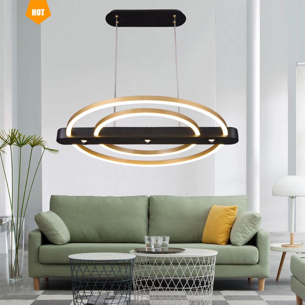Black 220 Volt Lowes Post Modern Simple Chrome Lightings Led Pendant Glass Globe Long Crystal Chandelier For Living Room