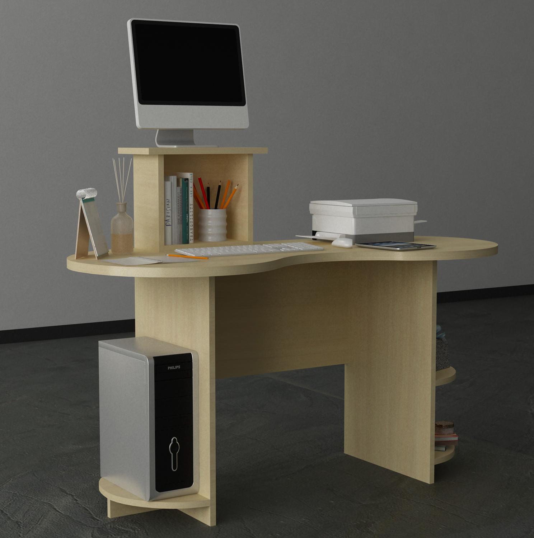 - Oem Wood Laminate Melamine Desktop Table Computer Desk - Buy