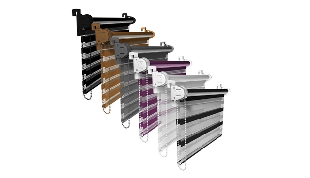 Customized Zebra Blinds, Custom Day Night Roller Blind Fabric Zebra Blind Low MOQ Manufacturer
