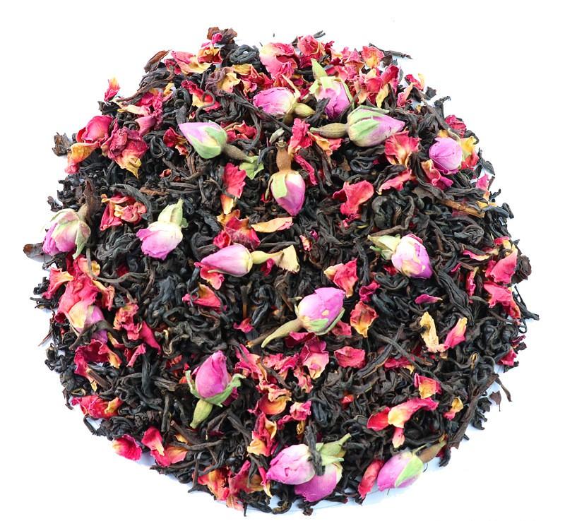 Pyramid Nylon Tea Bag,Rose Black Tea,Flavor and Herbal tea - 4uTea | 4uTea.com