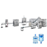 20 Liter Drining Water Bottle Filling Machine 3-5 Gallon Water Filling Line
