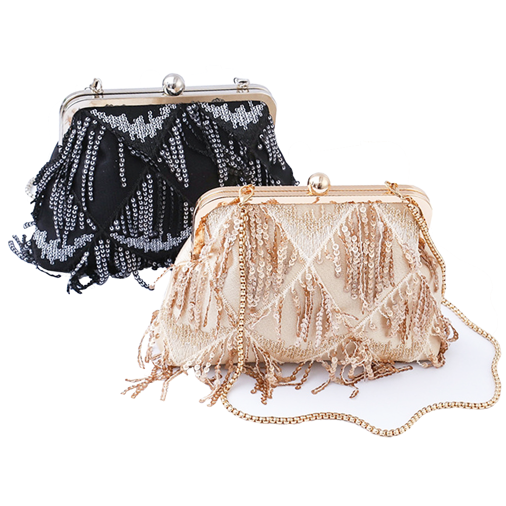 Wholesales Elegant Ladies Purses Pearl Jewellery Decorated Fabric Shoulder Bag Noble Women Evening Bags for Party