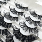 Eyelashes Brand High Quality 100% Real 3D Mink Eyelashes Bulk Mink 25Mm Create Your Own Brand Eye Lashes3D Lashes3D Wholesale Vendor