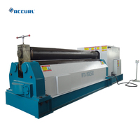 China Suppliers 12mm Thickness Sheet Metal 3 Roller Rolling Bending Machine W11-12*3000