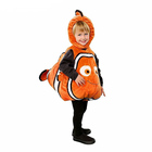 Deluxe Adorable Child Clownfish From Pixar Animated Film Finding Nemo Little Kids Fishy Halloween Christmas Cosplay Costume
