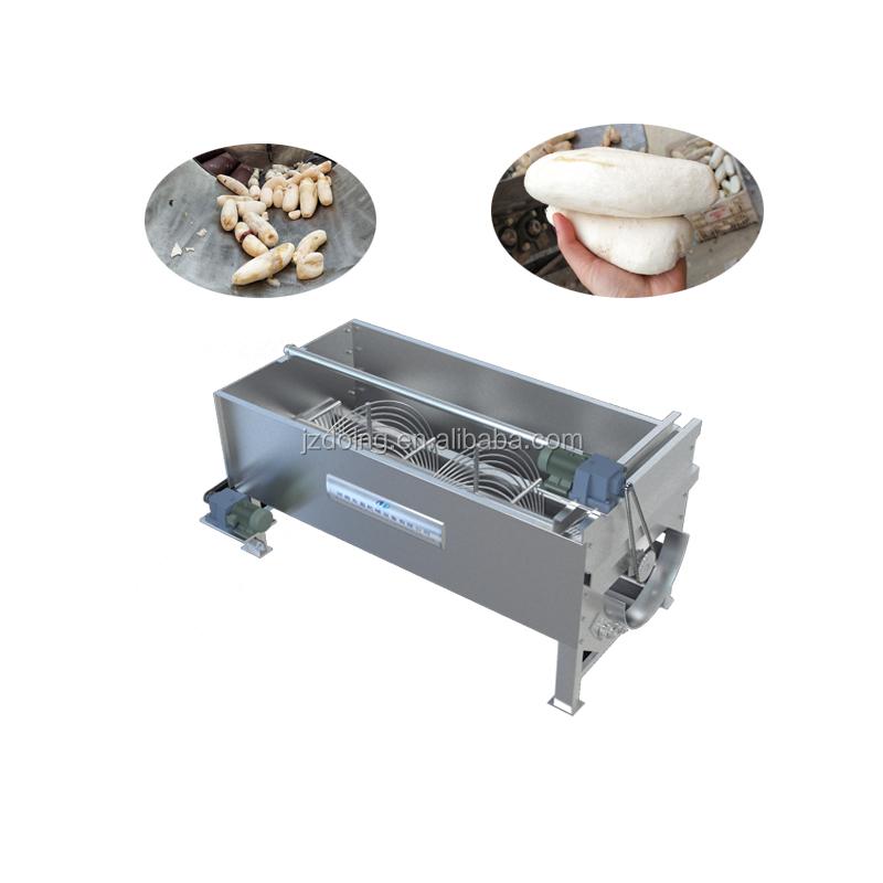 Cassava processing machinery cassava peeling machine to peel cassava skin