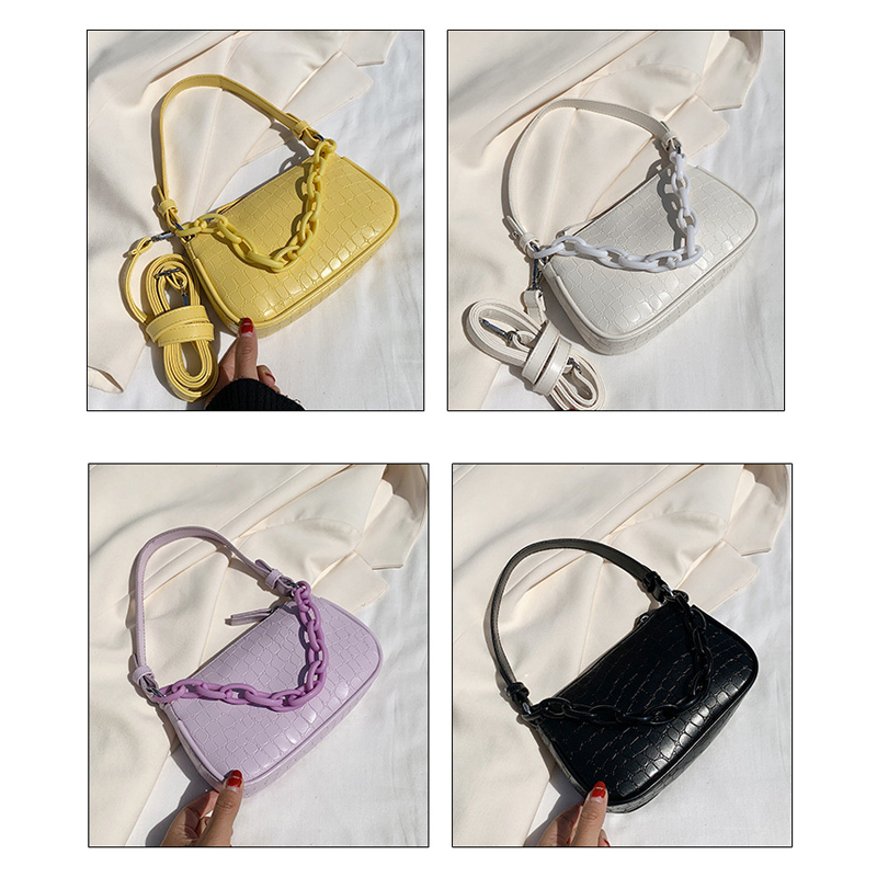 Osgoodway2 Stone pattern simple casual women crossbody bag custom bags western stylish leather handbags for girl