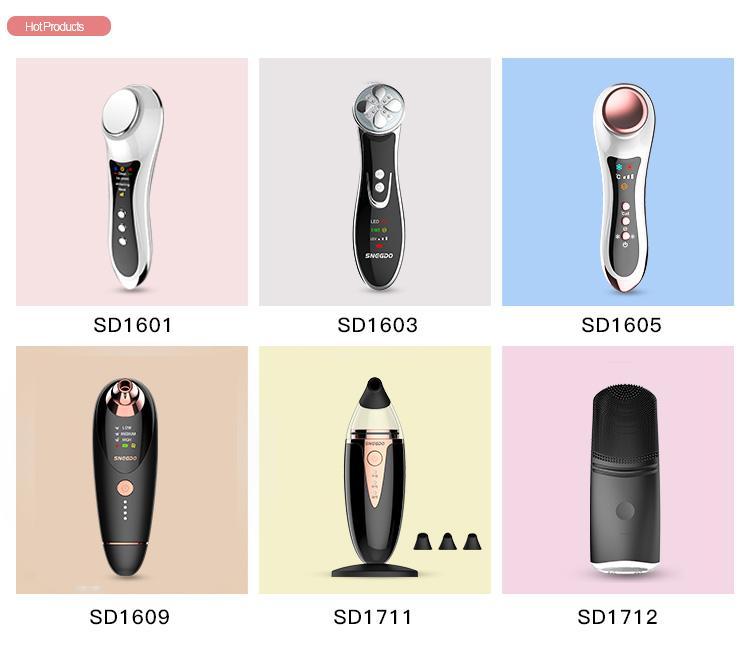 Yüz Temizleyici temizleme fırçası, sonik yüz temizleyici, USB Şarj Edilebilir