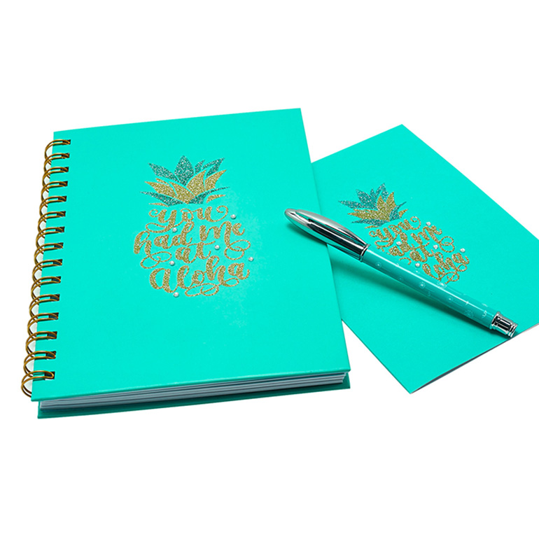 2020 New Design Lovely Office Notebook And Pen Set, Custom Printing Business Stationery Gift Set