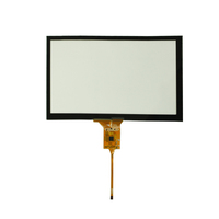 Microtech Professional 8 Inch 800x480 Interface Touch Screen Display Capacitive for Industrial Application