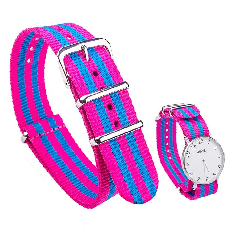 Wholesale High Quality Custom Nylon Strap Watch
