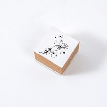 JIANWU винтажный герметик для девушек, жестовая печать, Канцтовары, журнал, цветы, деревянный штамп, сделай сам, штампы для скрапбукинга(Китай)
