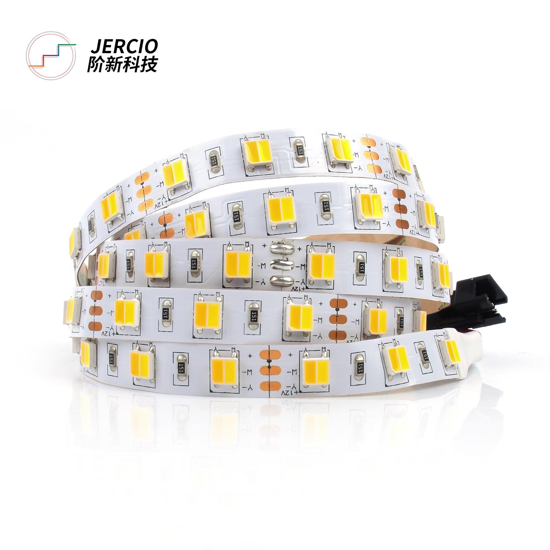 5050WW DC12V cold and warm white dual CCT led strip light  smart home atmosphere lighting 60LEDs / M
