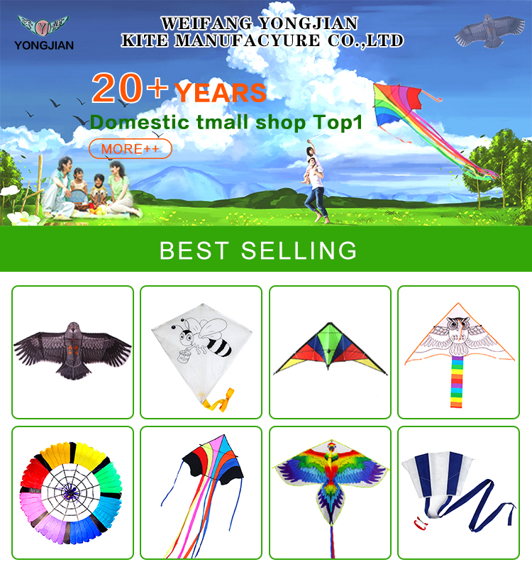 Wholesale hot sell peony butterfly kids toy  blank  chinese DIY kite for sale toys