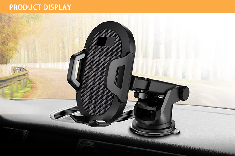 Table Adjustable Cell Phone Holder Stand ABS Desk Mobile Phone Holder For Phone And Tablet
