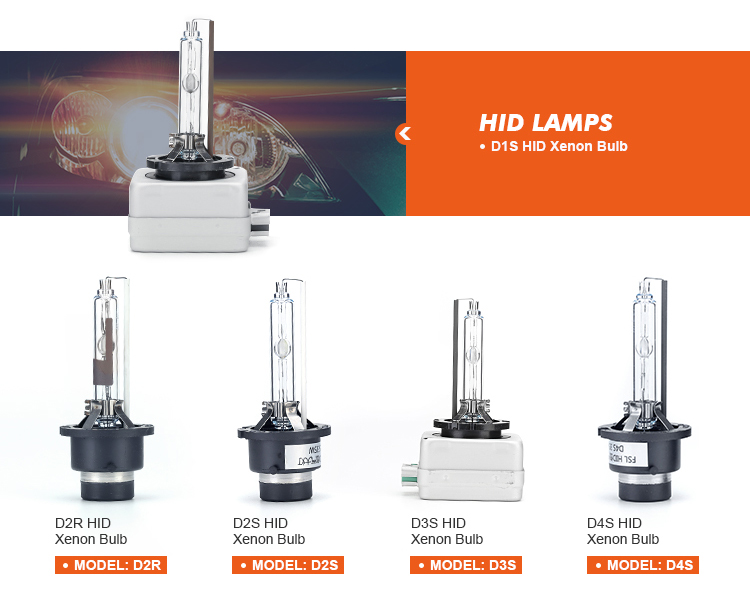 Nieuwe hid xenon lamp 35W 12V 5500K d4s hid xenon koplamp lamp auto xenon lamp