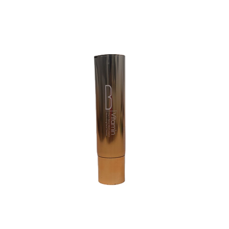 Beauty Container Design Empty Cosmetic Facial Cleanser Cream Packaging Laminated Tube