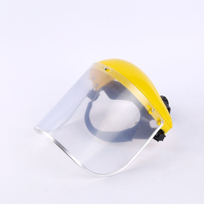 PC PVC acid and alkali resistance adjustment welding safety protective facial clear visor face cover visor protector helmet