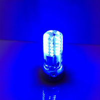 indoor colorful ceiling light g4 blue night bulb