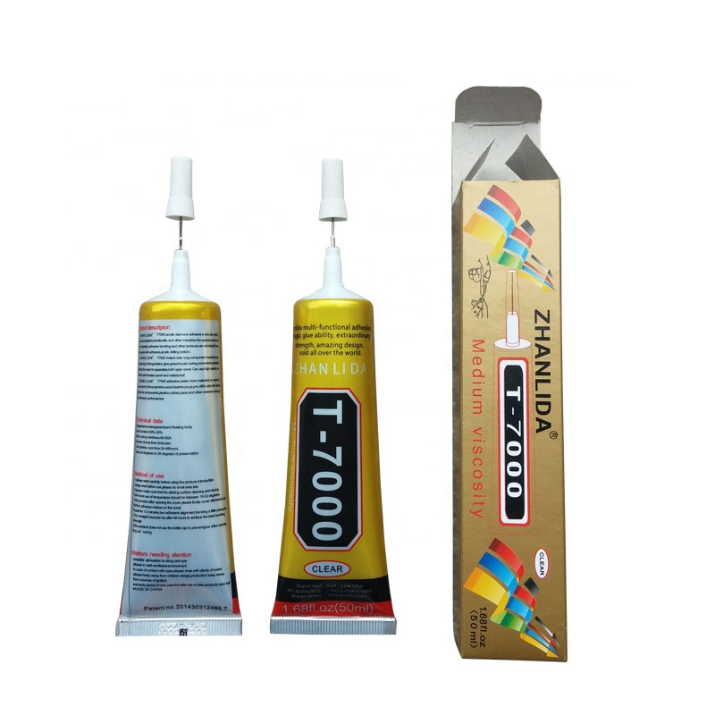 Hot Sales Best Multi Purpose Adhesive 15ML Tool Jewelry T7000 Black <strong>Glue</strong> For Repair LCD Touch Screen Adhesives <strong>Glues</strong>