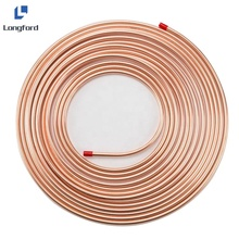 Astm B280 3 8 Inch 15 M <span class=keywords><strong>Cuộn</strong></span> Bánh <span class=keywords><strong>Đồng</strong></span> Vây Ống <span class=keywords><strong>Cuộn</strong></span> <span class=keywords><strong>Dây</strong></span>