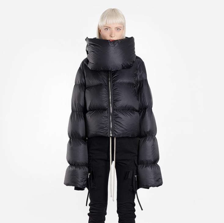 Cropped Down Parka Jacket Bubble <strong>Coat</strong> <strong>Winter</strong> Women New <strong>Fashion</strong> Short Down <strong>Coat</strong>