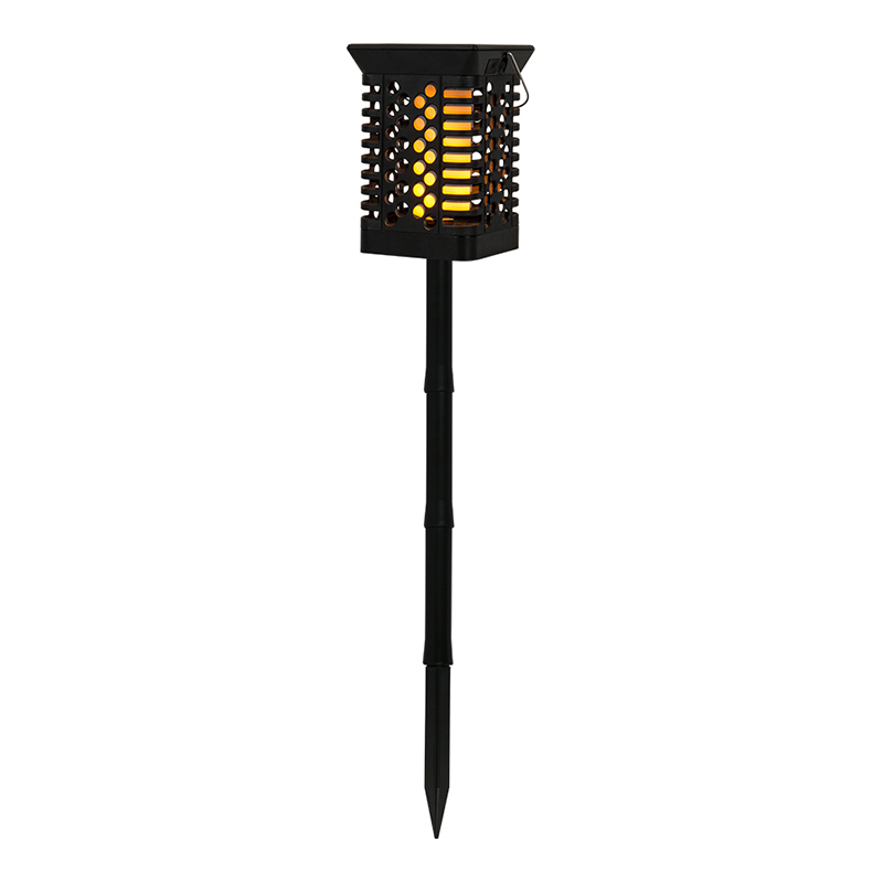 حار بيع إضاءة مقاومة للماء في الهواء الطلق الخفقان 2 في 1 ضوء الشعلة الخفقان الشمسية