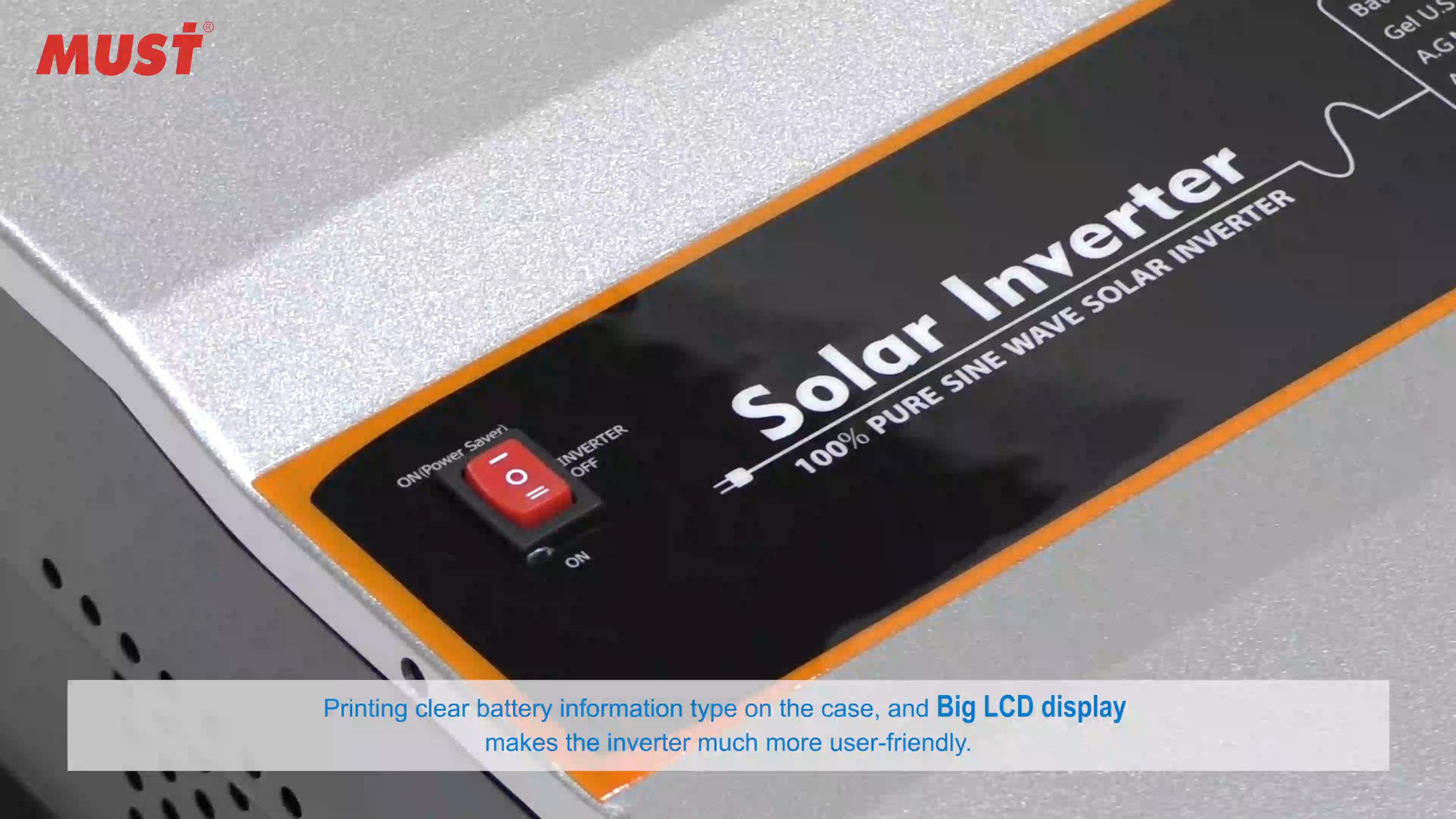 Zorunlu 4kw 5kw 6kw 8kw 10kw 12kw 48v saf sinüs dalga güneşle enerjisi inverteri güneş enerjisi sistemi için MPPT şarj