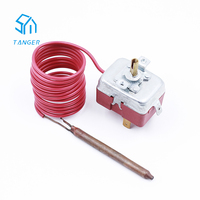 16A 250V Water heater Capillary Tube Temperature Controller Thermostats