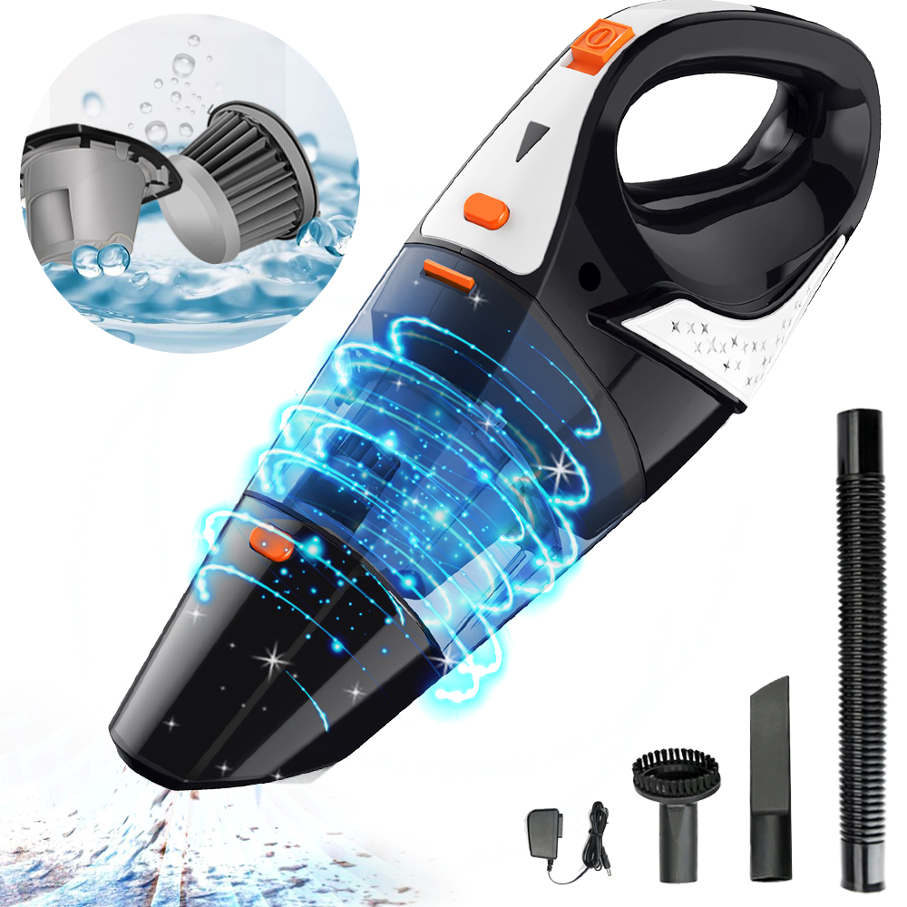 2019 Newest Rechargeable Powerful 12V 60w Hot Popular Cordless Handheld Vacuum <strong>Cleaner</strong>