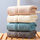 Hot Sale Amazon/Ebay/AliExpress 100% cotton customized white terry hotel bath towel