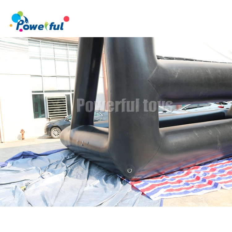 Air Sealed No Noise Inflatable Open Movie Air Screen Drive In Movie Screens For Sale
