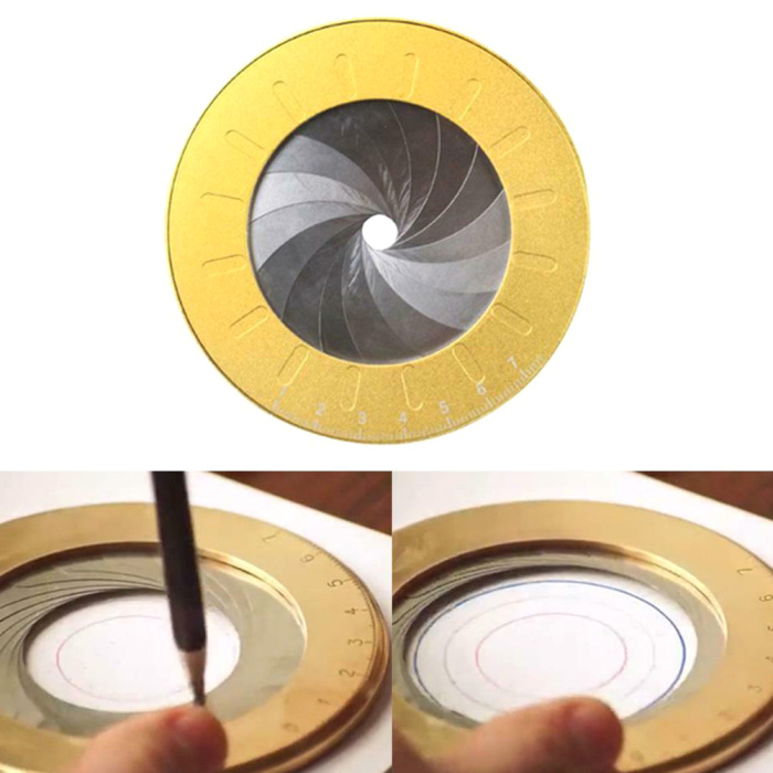 Flexible Circle Drawing Tool Rotary Adjustable Small Portable for Designer Woodworking