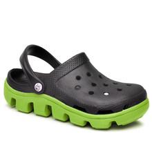 Новинка 2020 года; Женская обувь для сада; Пляжные сандалии; Цветные шлепанцы; Летняя женская повседневная обувь без застежки в рыбацком стиле...(Китай)