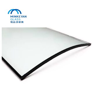 curved/flat 6mm ultra clear glass/super white glass/building glass