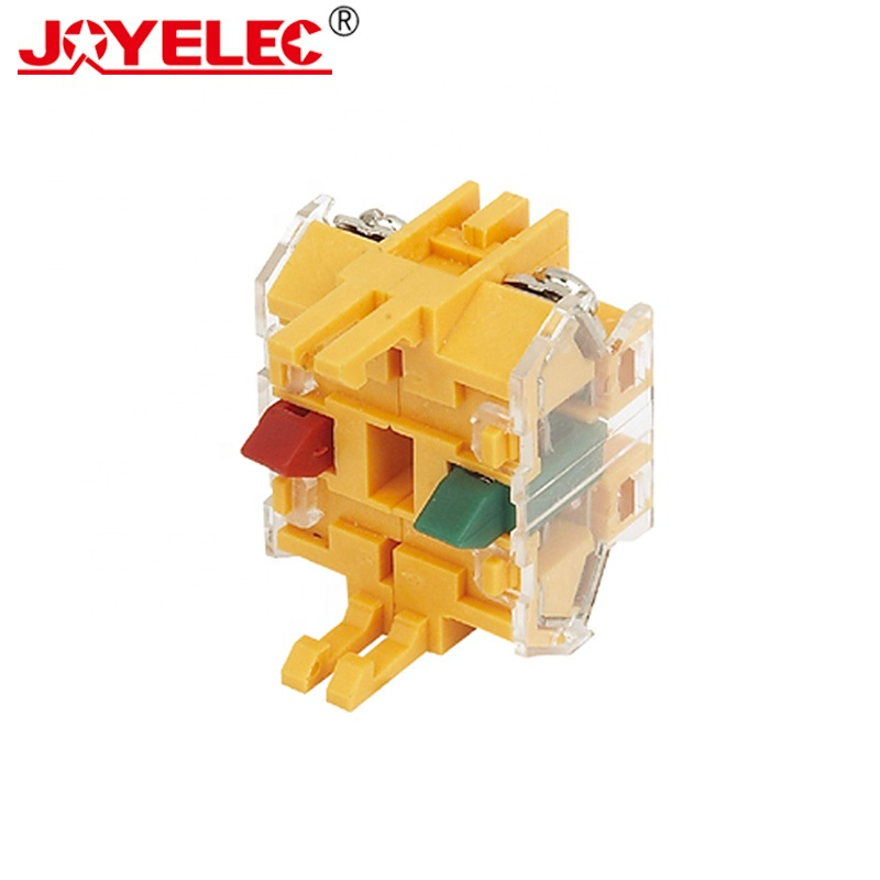 Pushbutton Push Button Switch Select Switch LA167-D7 Series Contact Block