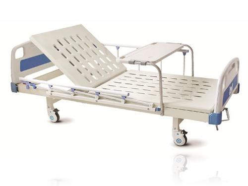 Low Price 1 Functions Manual Crank Care Bed Metal Nursing Bed Hospital Bed