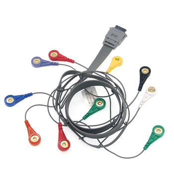 Medical BI holter recorder ECG cable , 10 lead / 7 lead available, New Products