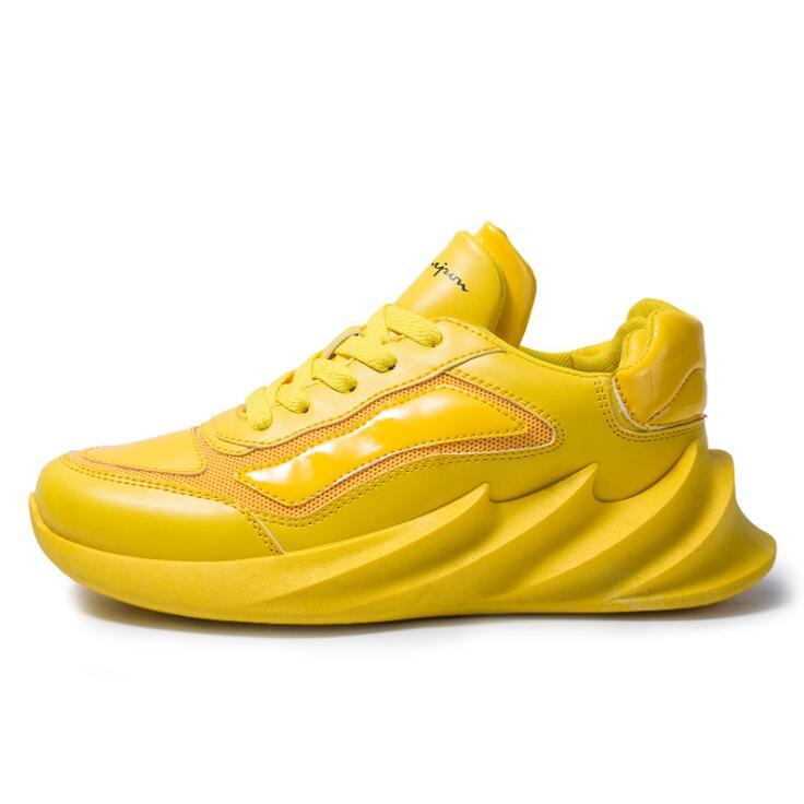 Sepatu Lari Pisau Bawah Kasual, Sepatu Olahraga Hiu Mode 2020, Sepatu Lari Bersirkulasi Kepribadian dari Pisau