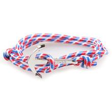 NIUYITID Викинги якорь браслет для мужчин и женщин ручной работы длинный веревочный браслет ювелирные изделия для мужчин браслет дешевая цена(Китай)