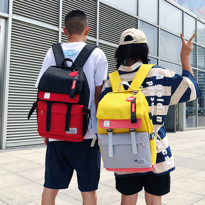 new fashion wild high large capacity female student computer travel backpack