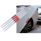 Car 40cm Car Door Edge Protection Strips Rearview Mirror Protector Rubber Front Rear Bumper Protector Guard Scratch Universal
