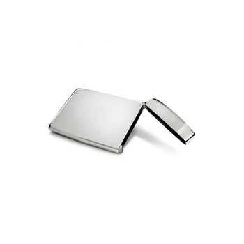 OEM ODM Customized Metal Stainless Steel Flip Top Business Card Holders