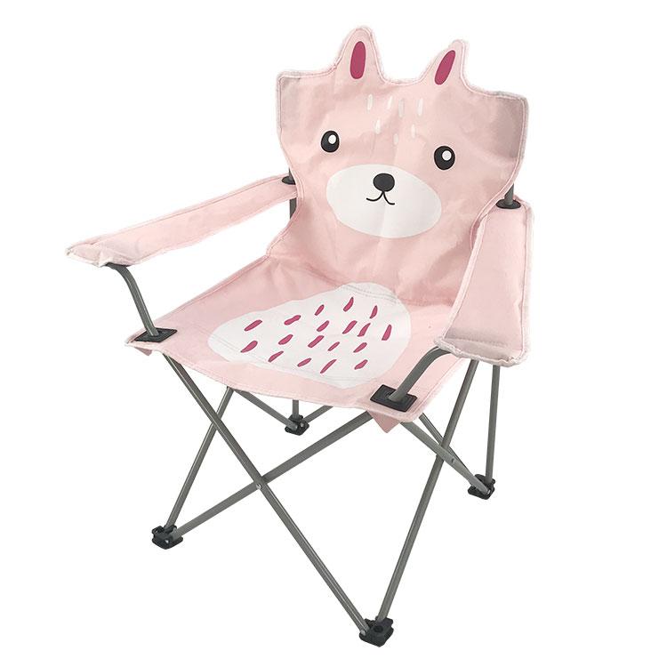 A buon mercato all'aperto capretti del bambino piccolo basso viola chiaro supporto di tazza bambino animale logo pieghevole da campeggio spiaggia sedia con baldacchino