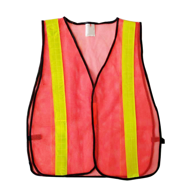 high visibility workwear construction clothes <strong>orange</strong> safety <strong>vest</strong> mesh reflective jackets reflective safety working <strong>vest</strong>