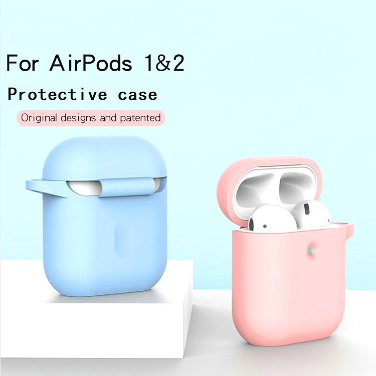 Pour Apple Air pod Charge Cas AirPods Silicone Housse De Protection de La Peau