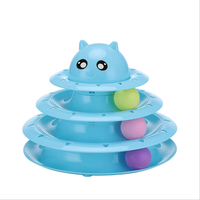 Environmentally Friendly And Non-Toxic Three-Layer Tray Toys For Pet Plastic Cat Toy