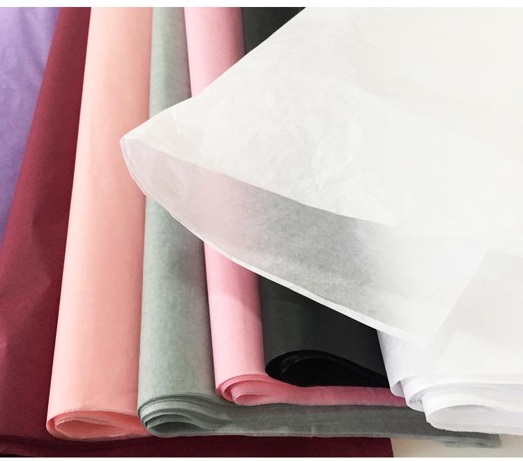 Colorful Design Personalizzato A Buon Mercato Riciclare Regalo Da Imballaggio Del Fiore di Carta Tissue 40 fogli/confezione